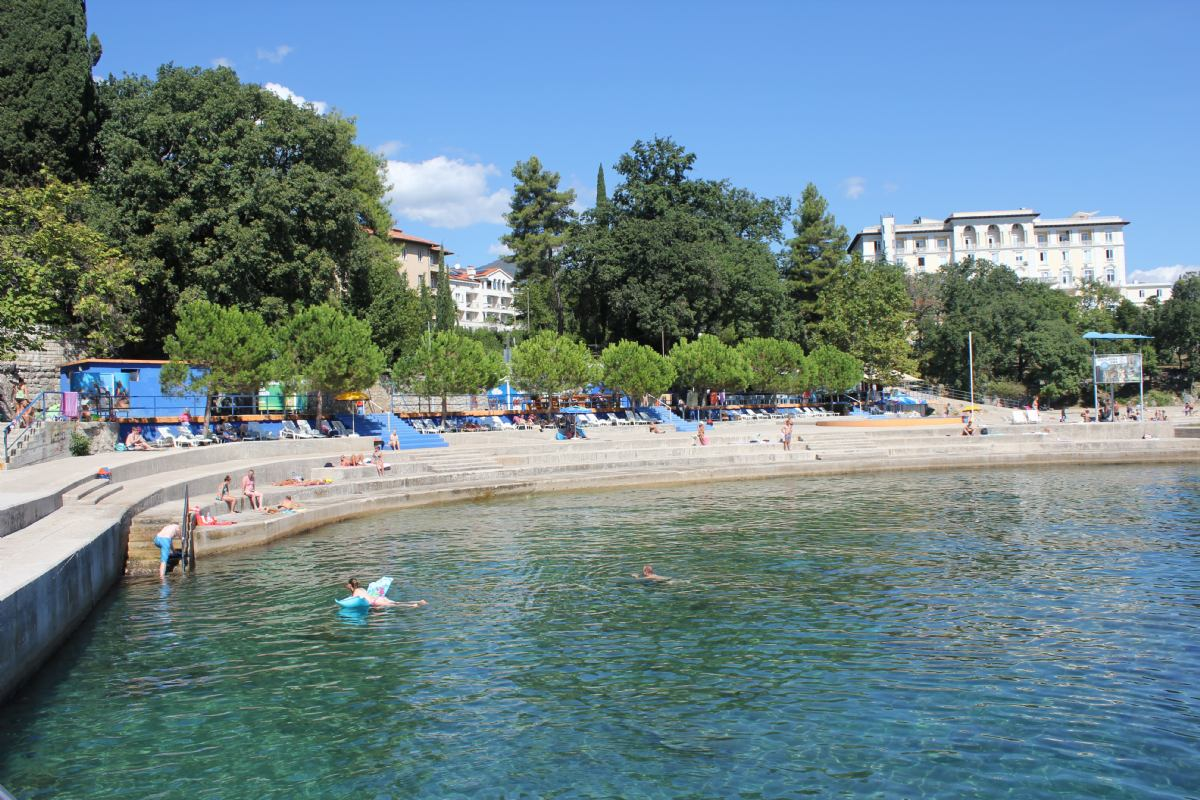 Kvarner beach