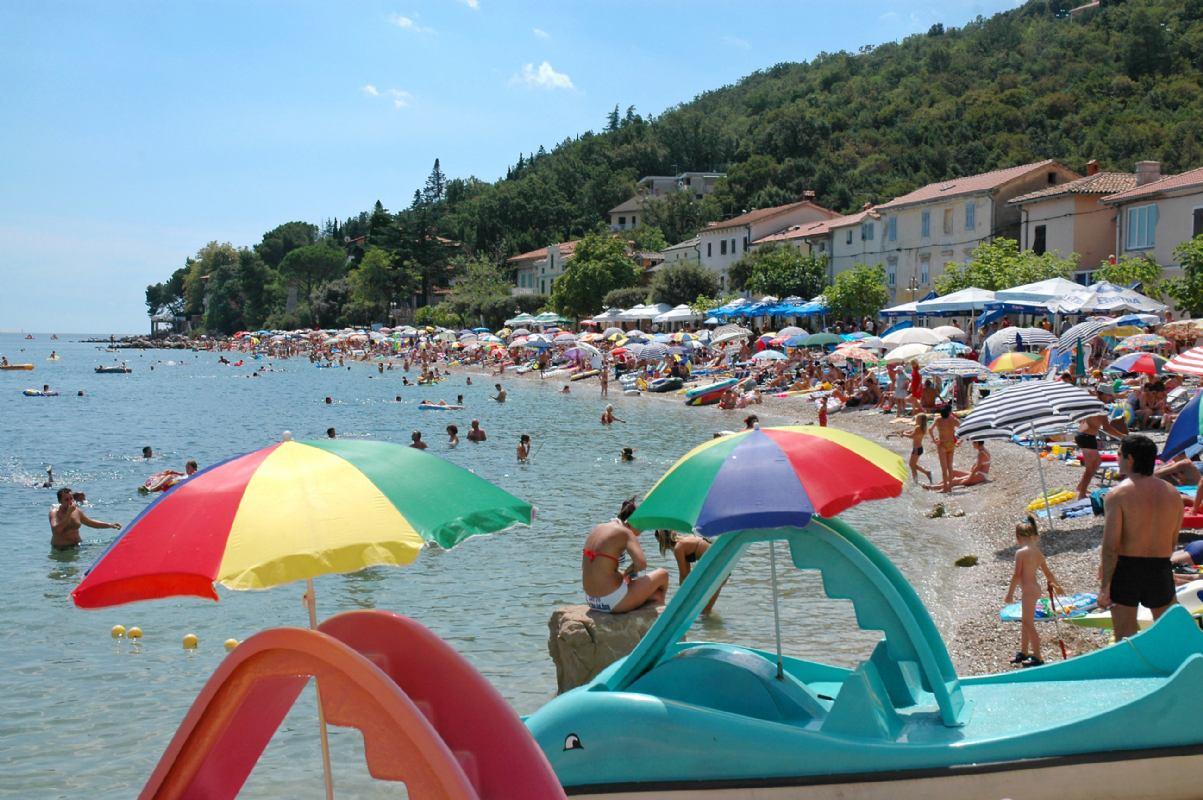 Mošćenička Draga beach