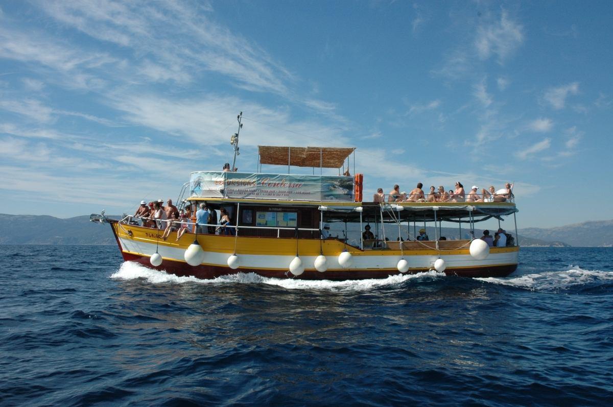 Boot Ausflug - Fish Picnic