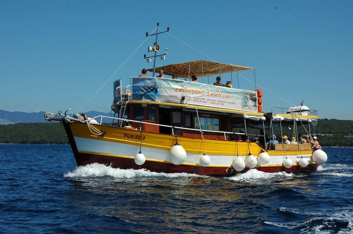 Gita con la barca - Riviera Tour